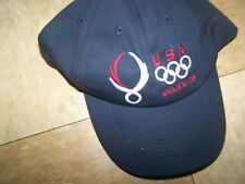 black Olympic USA Beijing 08 adjustable cap