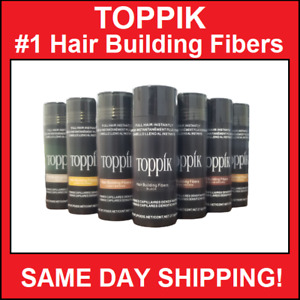 TOPPIK Hair Building & Thickening Fibers Brown Black Medium Brown Light 27.5g