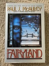 FAIRYLAND By Paul J. McAuley - Hardcover New