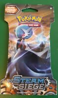 NEW POKEMON TCG SUN & MOON STEAM SIEGE BOOSTER PACK 10 CARDS IN PACK SEALED