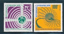 CENTRAL AFRICA 1963 SPACE COMMUNICATIONS SET SCOTT 25-26