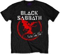 BLACK SABBATH Never Say Die Archangel Henry T-SHIRT OFFICIAL MERCHANDISE