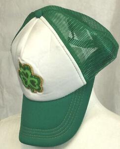 St Patricks Day Trucker Lucky Shamrock Cap Hat