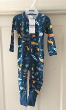 BONDS BABY 6-12 MONTHS ZIP WONDERSUIT, BONDS BUSHWALK PRINT, BNWT.