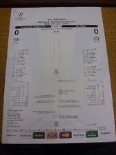 09/03/2011 Tottenham hotpsur V AC Milan [UEFA CHAMPIONS LEAGUE] - Ufficiale CONCEN