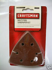 Multi-Tool Sandpaper Kit by Craftsman 24-pc, 60, 120 & 180 Grit (8-pc each)
