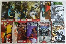 THANOS LOT 15 MARVEL COMIC BOOKS HIGH GRADE NM SOURCEBOOK ANNUAL RISING LEGACY