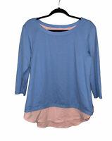 Columbia Omni-Wick 3/4 Sleeve Shirt Active Top Performance Women's Size Medium