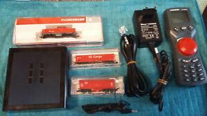 Fleischmann Startset digital BR 212 Cargo z21 Multimaus & 2 Wagongs XXL Bilder