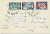 BELGIEN 1958 EXPO 1 Fr + 50 C und 1,50 Fr +50 C u. 2,50 Fr + 1 Fr m TELEXPO SST