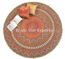 Indian Round Mandala Meditation Blanket Decorative Boho Beach Throw Table Cover