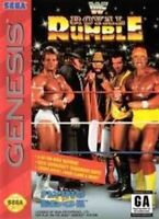 WWF Royal Rumble - Original Sega Genesis Game