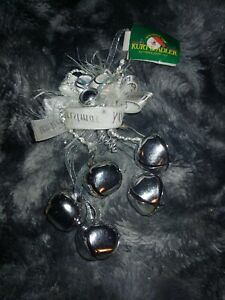 Christmas Ornaments Silver Bells