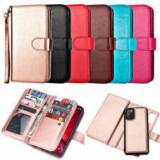 Detachable Wallet Leather Flip Case Cover For Samsung A51 A71 S21 S20 S10 S9Plus