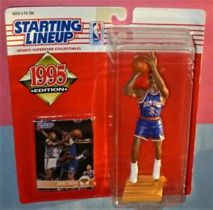 1995 JOHN STARKS #3 New York Knicks NM+ Rookie *FREE s/h* sole Starting Lineup