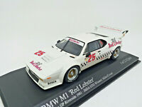 "MINICHAMPS 1/43 - BMW M1 IMSA ""Red Lobster"" 1981 Winners Miller Cowart 430812525"