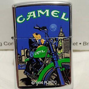Unfired  Vintage 1997 Camel Joe Bike Zippo Lighter