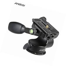Andoer® Q08 Video Tripod Ball Head 3-way Fluid Head
