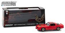 Greenlight 1/43 Scale 1977 Pontiac Firebird T/A Trans Am FIRETHORN RED - 86330