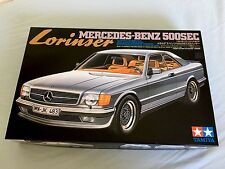 New Tamiya 1/24 Mercedes Lorinser 500 Sec  Excellent. 1983 Made in Japan Rare!