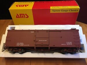 Accucraft / AMS AM31-100 Box Car - 1:20.3 Scale New In Box