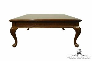 """UNIVERSAL FURNITURE Cherry Traditional Style 38"""" Square Accent Coffee Table"""
