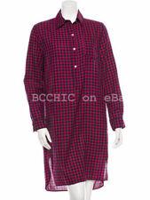 Regular Check Shirt Dresses for Women