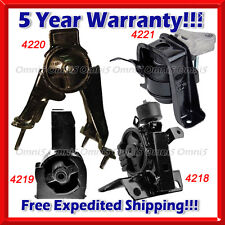 K049 For 03-08 Toyota Matrix Base/ XR 1.8L 2WD Engine & Trans Mount for AUTO 4PC