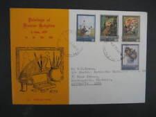 NEW ZEALAND FDC-  1973 FRANCES HODGKINS PAINTINGS SET SG 1003/6