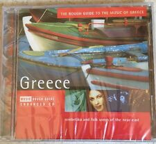 The Rough Guide to The Music of Greece Rough Guide World Music enhanced CD New
