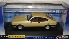 FORD CAPRI Mk3 3.0 Ghia Corgi VA10814A Oyster Gold RHD Ltd Edition of 1500