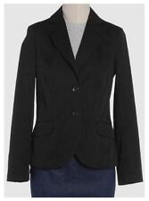 PESERICO Made in Italy jacket blazer giacca donna cotone stretch nera 42 IT NWT