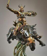 CS Moore Studio and Frank Frazetta's Conan the Conqueror Faux Bronze Statue #PPS