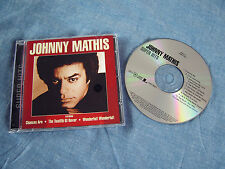 JOHNNY MATHIS - Super Hits - 1999 CD Album 10 Tracks EX