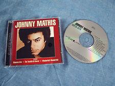 JOHNNY MATHIS - Super Hits - 1999 CD Album 10 Tracks EX
