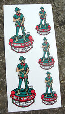 Robin Hood Style Vintage Cycle Frame decals stickers
