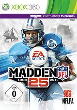 360 Xbox juego Madden NFL 25 sin instrucciones buen estado + embalaje original
