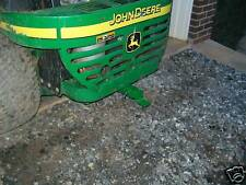 John Deere Z Trak Pull Behind Hitch 737, 757, 777  Mower