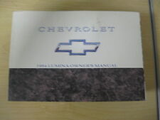 1994 CHEVROLET LUMINA OWNERS MANUAL CHEVY GENUINE OEM