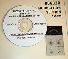HP 86632B AM-FM Modulation Module Ops & Service Manual