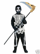 Unisex Skeleton Halloween Costume Child Small 4-6
