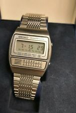 Seiko calculator digital watch C359-5000 Vintage