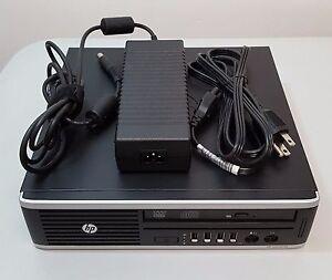 HP Compaq Elite 8300 Ultra-Slim Desktop i5-3470S 2.90GHz 4GB w/Adapter HD 500GB