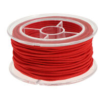 Red Elastic Stretch String Cord Thread for Jewelry Making Bracelet Beading