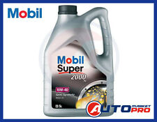 OLIO MOTORE MOBIL 10W40 SUPER 2000 X1 LITRI 5 A3/B3 SL 501 01 / 505 00 229.1