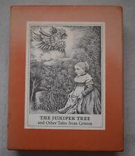 The Juniper Tree by Lore Segal, (Maurice Sendak SIGNED) 1973 1st Ed