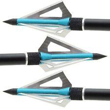 6 Frecce Tiro con l'arco testa larga arco compound arco ricurvo sganciamento