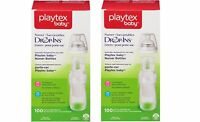 Playtex Baby Nurser Drop-Ins Baby Bottle Disposable Liners 8 oz 100 (Pack of 2)