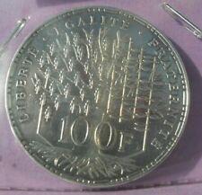 100 Francs Panthéon 1983 : SUP : pièce de monnaie Française ARGENT N10