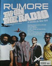 RUMORE 171 2006 TV On The Radio Be Your Own Pet Magic Numbers Lester Bangs Organ